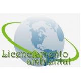 licenciamento ambiental no Rio Pequeno